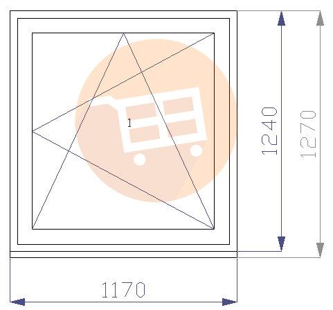 Balts - Verams - Labais - Nr.24 1170x1270 Līvānu māju logs