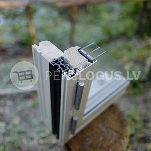 COto62 skandināvu tipa koka logs ar alumīnija uzlikām