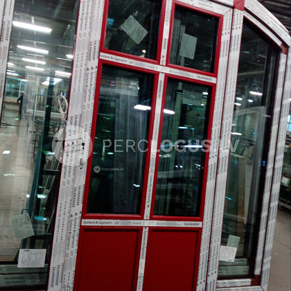 Moderna pvc logu / durvju ražotne - Ārdurvis Brugmann AD line